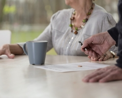 Divorce and the older person .