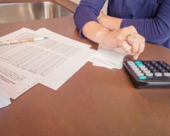 Four steps to a financial settlement.
