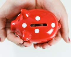 Piggy bank - new pension rules.