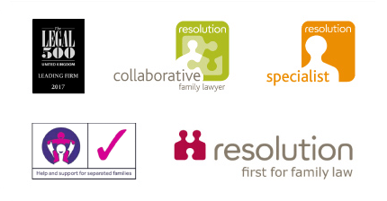 Family Law Solicitors accreditations.