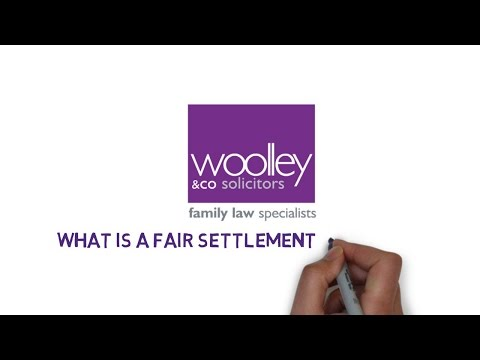 What is a fair settlement on divorce?