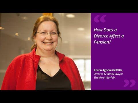 How Does a Divorce Affect a Pension?