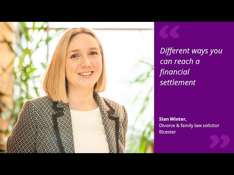 Different ways you can reach a financial settlement