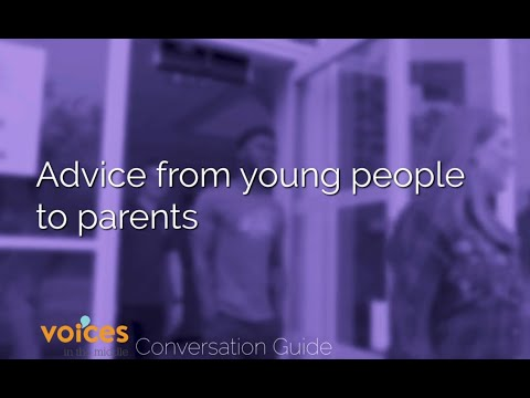 Advice from Young People to Parents