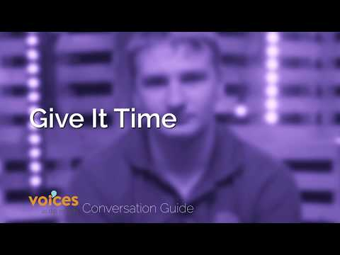 Voices in the Middle Conversation Guide - Give It Time