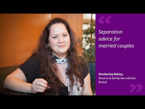 Separation advice for married couples