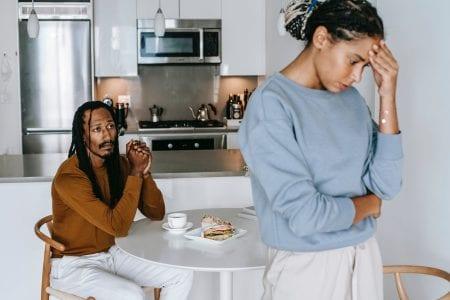 Divorce - telling your spouse
