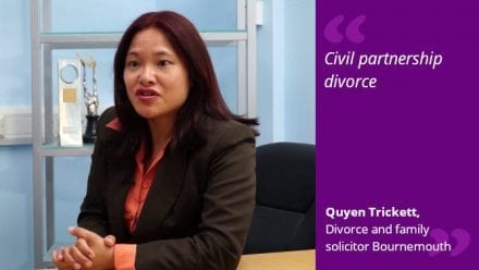 Civil partnership divorce