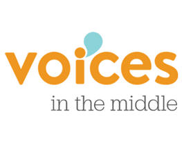 voices in the middle logo