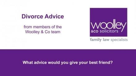 Divorce advice to a friend from our family lawyers