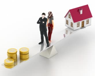 Divorce financial settlement