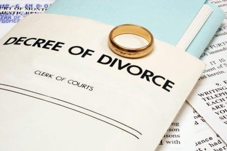 Decree of divorce