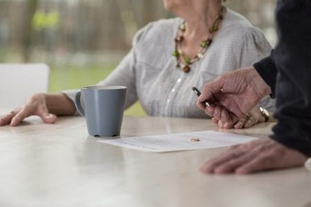 Divorce and the older person