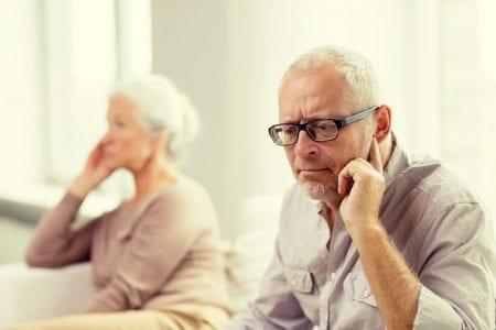 Divorce and older people