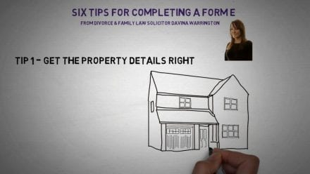Tips for completing your form E
