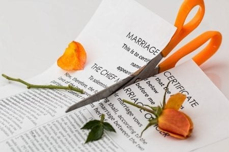 marriage certificate and scissors for article can you divorce the same person more than once