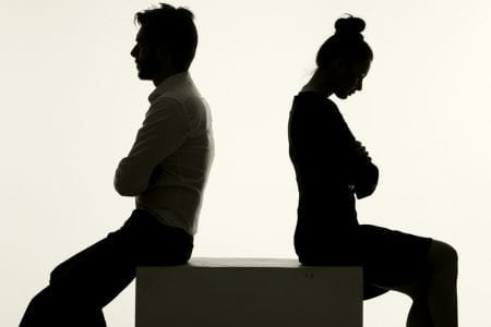 Divorce - telling your spouse